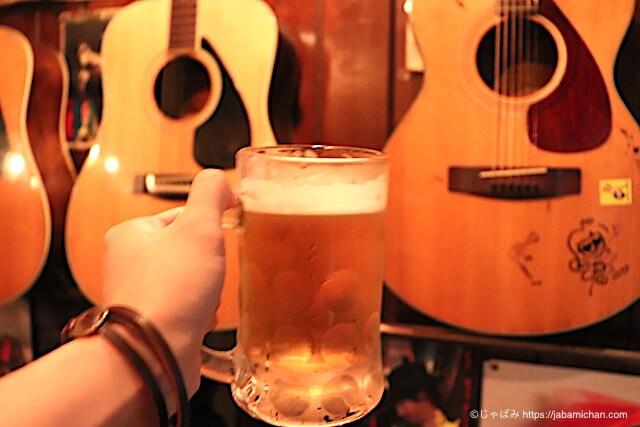 ハッピーローラ 生ビール