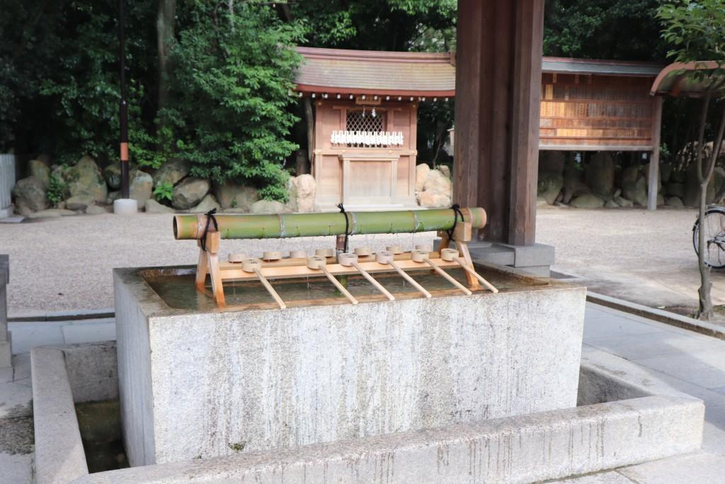 西宮神社 手水舎
