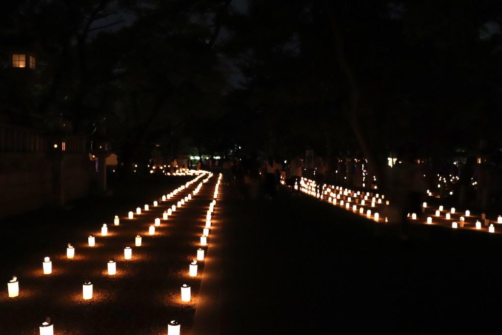 西宮神社 えびす万燈籠