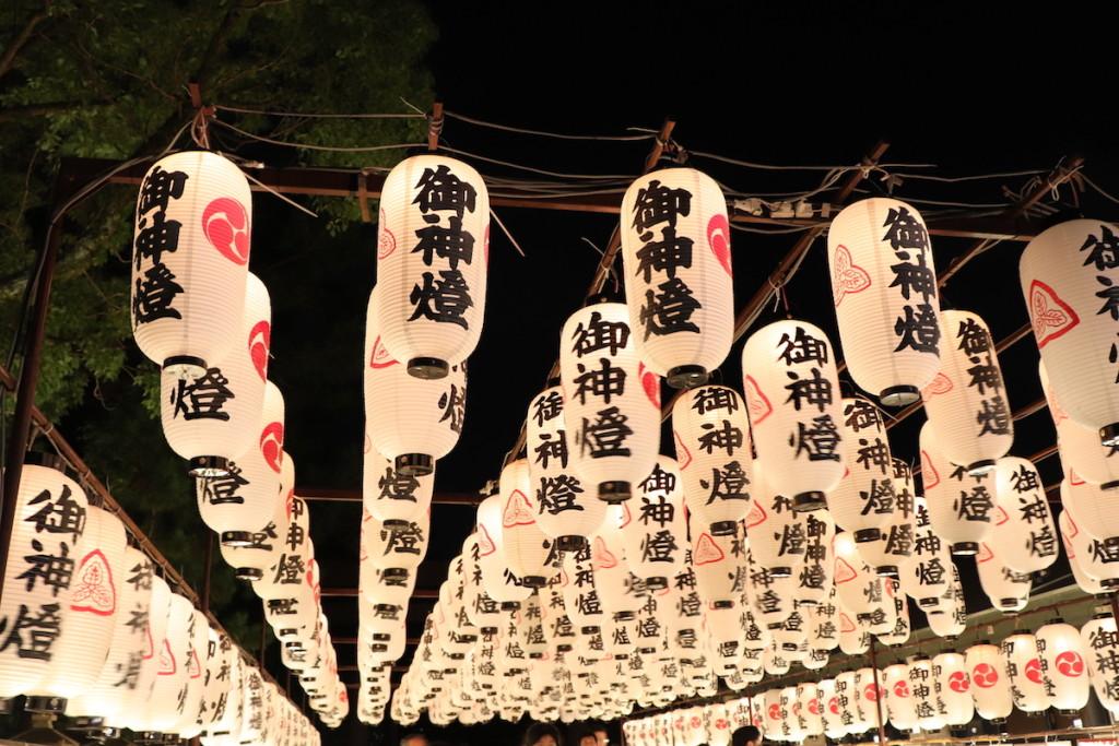 西宮神社 御神燈 ちょうちん