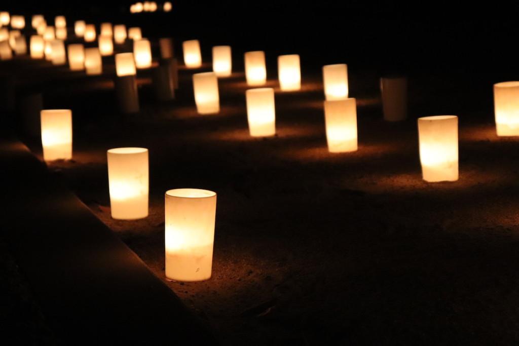 西宮神社 えびす万灯燈