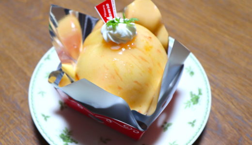 萩の歴史あるケーキ屋さん♪タムラ洋菓子店のまるごと桃の贅沢スイーツ