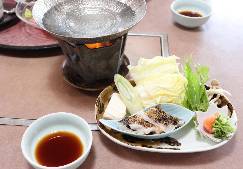 海鮮問屋 丸長 田辺店 うつぼの小鍋