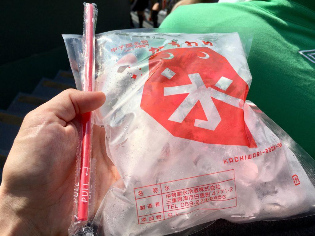 甲子園 高校野球 かちわり氷