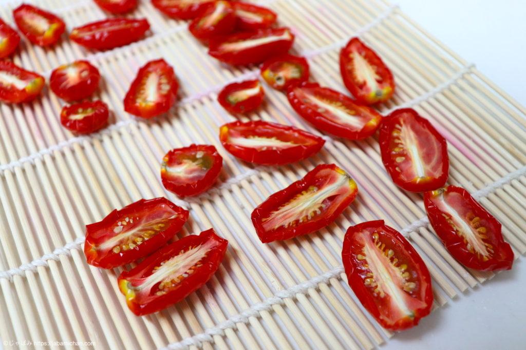 セミドライトマト 手作り