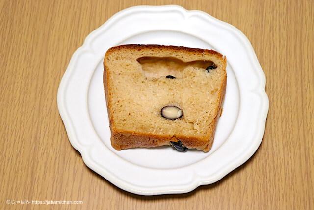 黒豆きなこ食パン