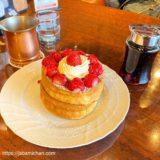 【甲子園】星乃珈琲店 コロワ甲子園店の居心地よすぎ!いちごたっぷりスフレパンケーキ食べてきました