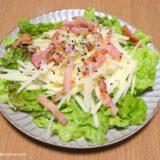 【レシピ】生のじゃがいもを使った「じゃがっぺ」(洋麺亭さんれものサラダ)をご紹介します